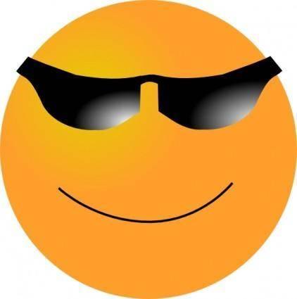 Smiling Smiley clip art