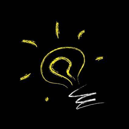 Lightbulb Ooidesign clip art
