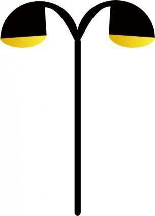 free vector Street Lamp clip art