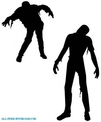 free vector FREE VECTOR ZOMBIES