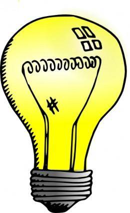free vector Incandescent Light Bulb clip art