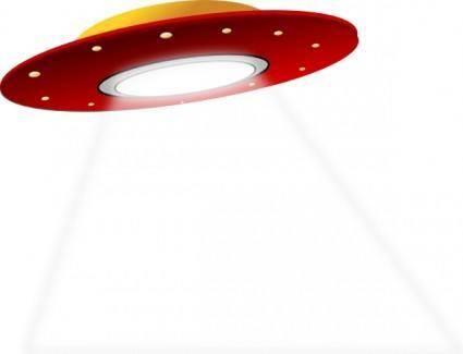 Ufo Spaceship Alien clip art