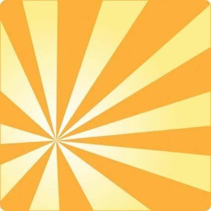 free vector Gradient Rays clip art