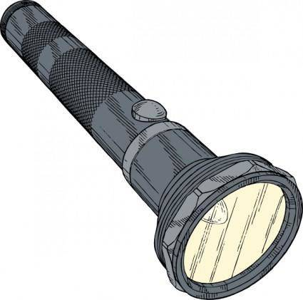 free vector Flashlight clip art