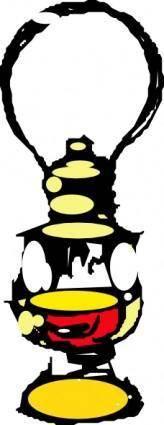 free vector Kerosene Lamp clip art