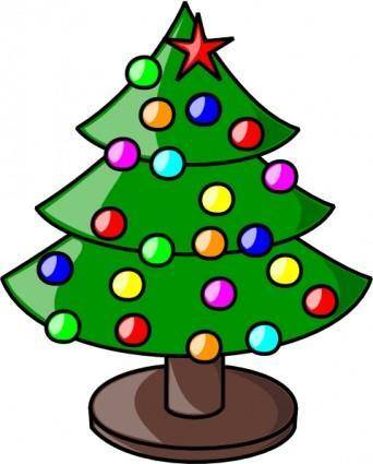 Christmas Tree clip art 107604