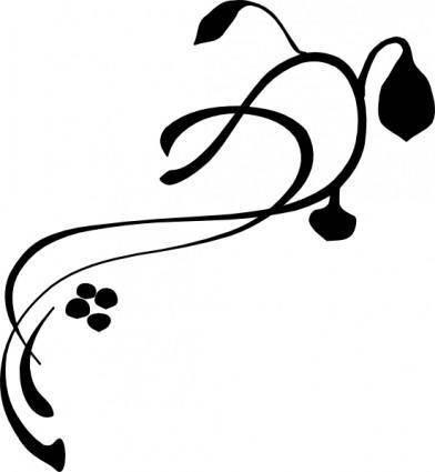 free vector Sneptune Vines Grass clip art