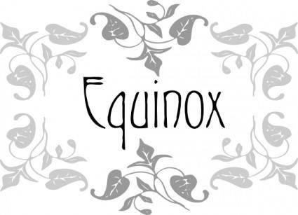 free vector Equinox clip art