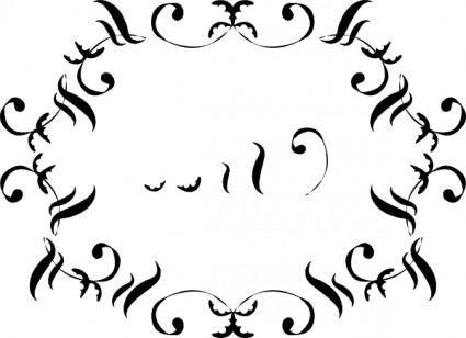 Ornamental Flowers clip art