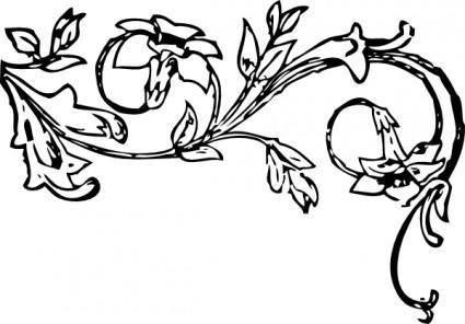 free vector Floral Decoration clip art