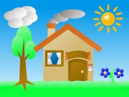 free vector Summer Shining Sun clip art