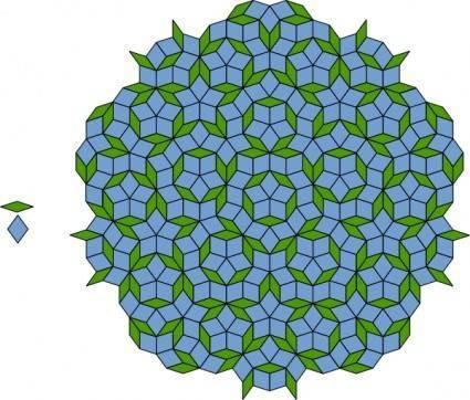 Penrose Tiling clip art