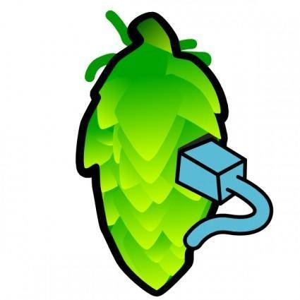 Fattymattybrewing Hop Cone Color Illustration By Fatty Matty Brewing clip art