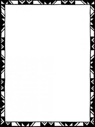 Frame Mono Colored clip art
