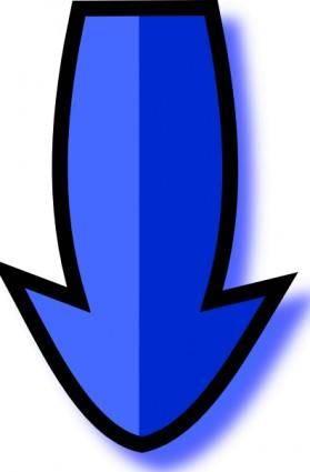 free vector Arrow Bulb clip art