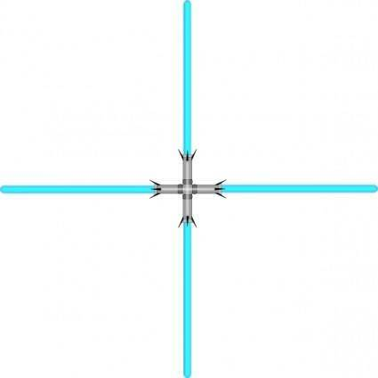 Lightsaber Quad clip art
