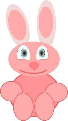 Cute Rabbit clip art