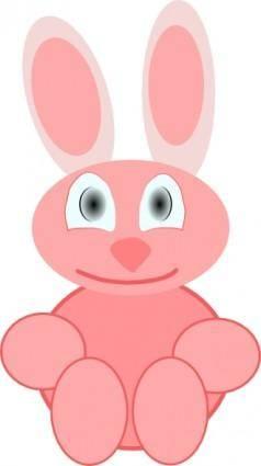 free vector Cute Rabbit clip art