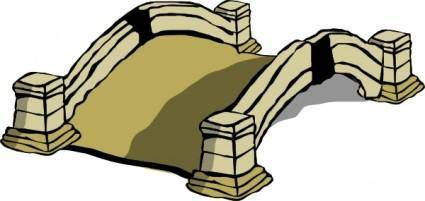 Old Bridge clip art