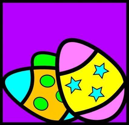 Easter Eggs clip art