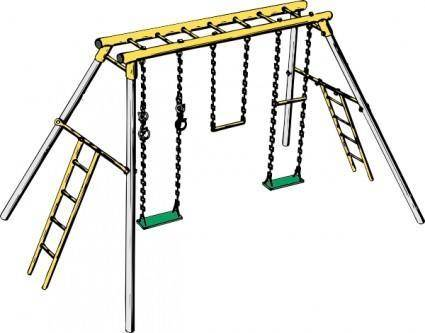 Swing Set clip art