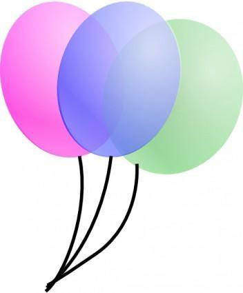 free vector Balloons clip art