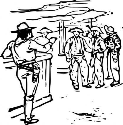 free vector Western Saloon clip art
