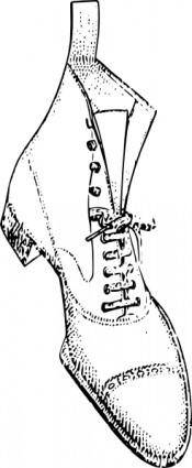 Shoe Boots clip art