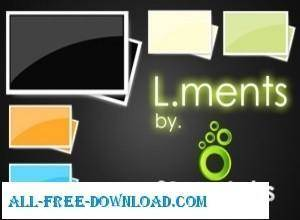 free vector L ments  Pack 1