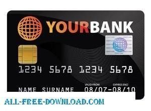 free vector Credit Card