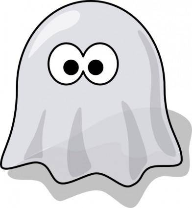 free vector Cartoon Ghost clip art