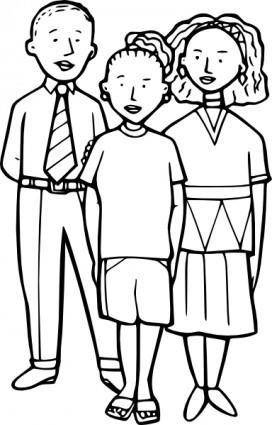 free vector Children clip art