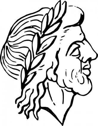 Roman Man clip art
