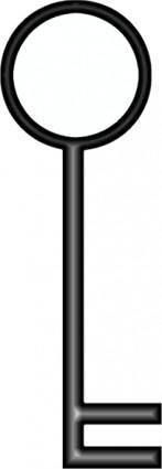 D Key clip art