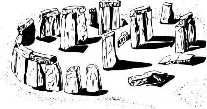 Megalith clip art