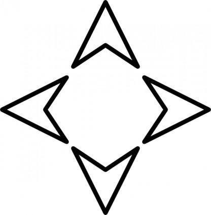 Plain Arrows Controller clip art