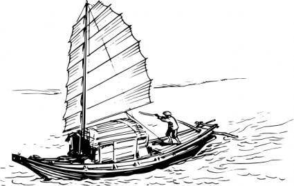 Sail Ship clip art