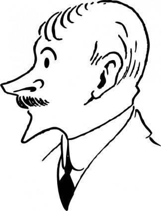 free vector John Masefield clip art
