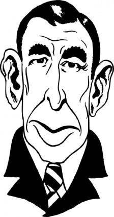 Booth Tarkington clip art