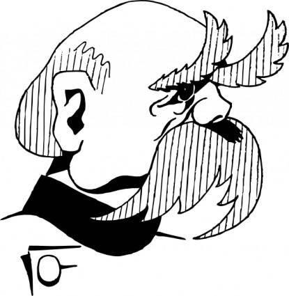 Otto Von Bismarck clip art