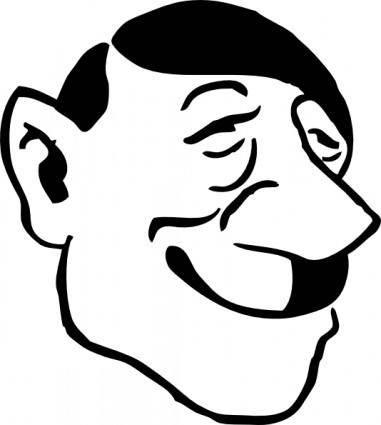 free vector Adolf Hitler clip art