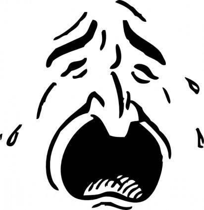 free vector Weeping clip art