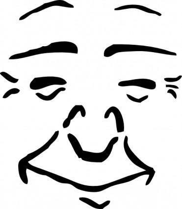 free vector Contentment clip art