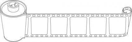 Phototape Coil clip art