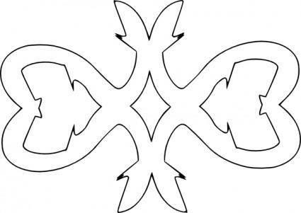 free vector Decorative Border Outline clip art