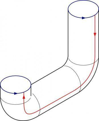Pipes Folding clip art