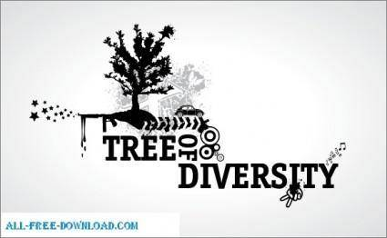 free vector Vectoroom Free Vector 2  Tree