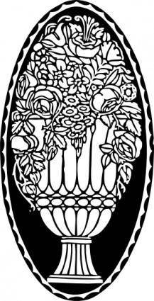 Roses Ornament clip art