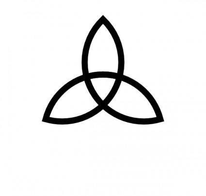 free vector Celtic Triad clip art