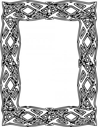 Frame Outline clip art